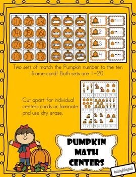 Pumpkin Math and Literacy