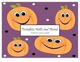 Pumpkin Math and More