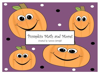 Pumpkin Math and More