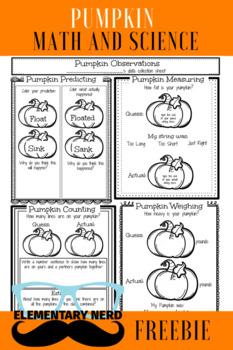 Pumpkin Math and Science