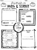 Pumpkin Math and Science {FREEBIE}