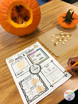 Pumpkin Math and Science {FREEBIE}