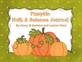 Pumpkin Math and Science Journal