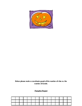 Pumpkin Math and/or  Science lesson    Halloween Math