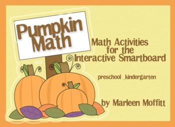 Pumpkin Math for Interactive Smartboard (Notebook 11)