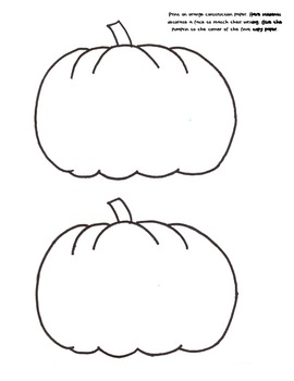 Pumpkin Math/Science/Writing