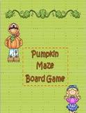 Pumpkin Maze Game