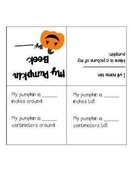Pumpkin Measurement Book