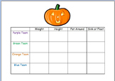 Pumpkin Measurement Project