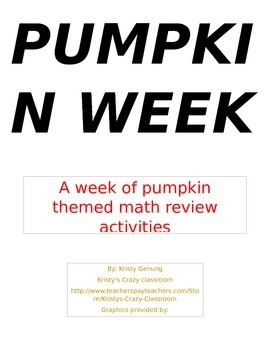 Pumpkin Measurement Review