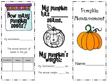 Pumpkin Measurement Trifold