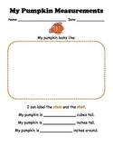 Pumpkin Measurement and Estimation