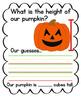 Pumpkin Measuring Anchor Chart {FREEBIE}