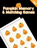 Pumpkin Memory and Matching Games