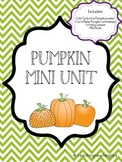 Pumpkin Mini Unit Packet