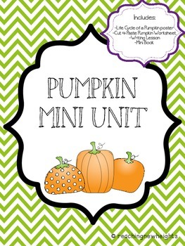 Pumpkin Mini Unit Packet