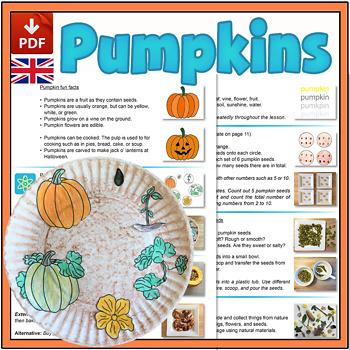 Pumpkin Mini-lesson - UK Version (A4)