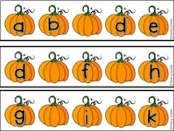 Pumpkin Missing Letter Before and After