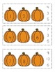 Pumpkin Missing Number Clip Cards