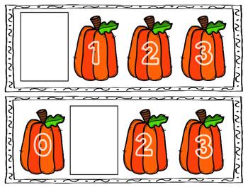Pumpkin Missing Numbers