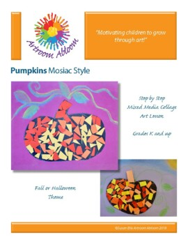 Pumpkin Mosaic Style
