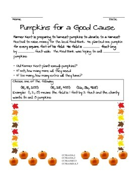 Pumpkin Multiplication