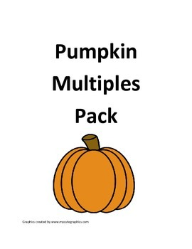 Pumpkin Multiplication Multiples Pack