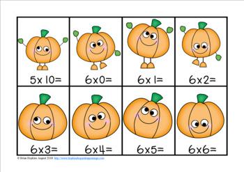 Pumpkin Multiplication Race