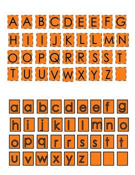 Pumpkin Name Craft