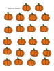 Pumpkin Near Doubles (Doubles Plus One) Math Station/Fact Practice