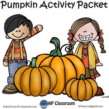 Pumpkin No Prep Activity Packet and Worksheets