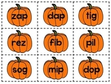Pumpkin Nonsense Word Sort