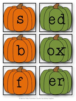 Pumpkin Nonsense Words