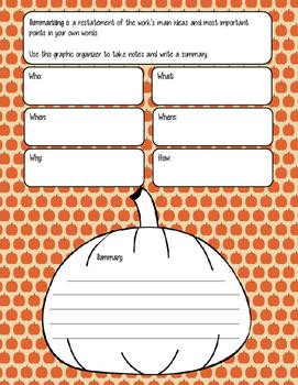 Pumpkin Notes and Summary