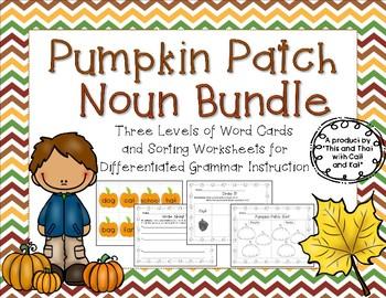 Pumpkin Noun Bundle