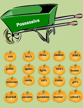 Pumpkin Noun Sort 2