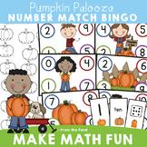 Pumpkin Number Activities for Kindergarten - Number Match