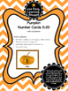 Pumpkin Number Cards 0-20