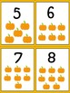 Pumpkin Number Cards 1-10