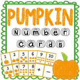 Pumpkin Number Cards 1-10