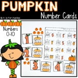 Pumpkin Number Cards