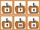 Pumpkin Number Cards {French & English}