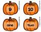 Pumpkin Number Fluency Cards | English | 1-10