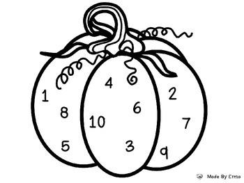 Pumpkin Number ID