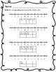 Pumpkin Number Line Number Sense Worksheets