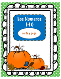 Pumpkin Number Match 1-10 SPANISH