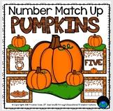 Pumpkin Number Match Up Math Center