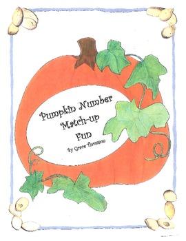 Pumpkin Number Match-up Fun