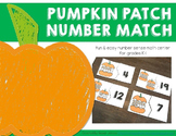 Pumpkin Number Match with Tens Frames