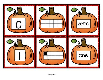 Pumpkin Numbers FREE